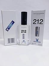Мужские минипарфюмы с феромонами Carolina Herrera 212 Men Pheromon 60 ml реплика