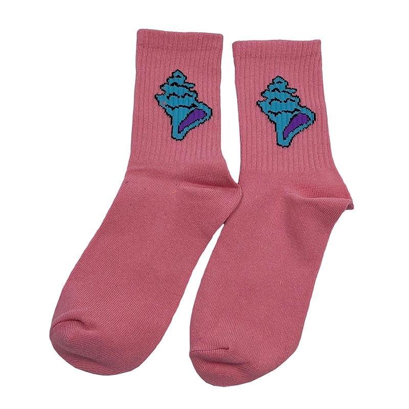 Носки мужские МК-1349 высокие розовые (р36-42)