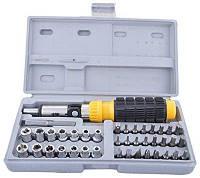 Набор инструмента 41 в 1  AIWA 41-Piece bit and Socket Set