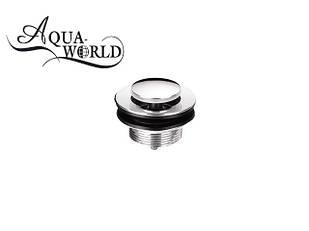 """Донный клапан сифона 1 1/2"""" для душевой кабины 40 мм  Aqua-World СГ001.3"""