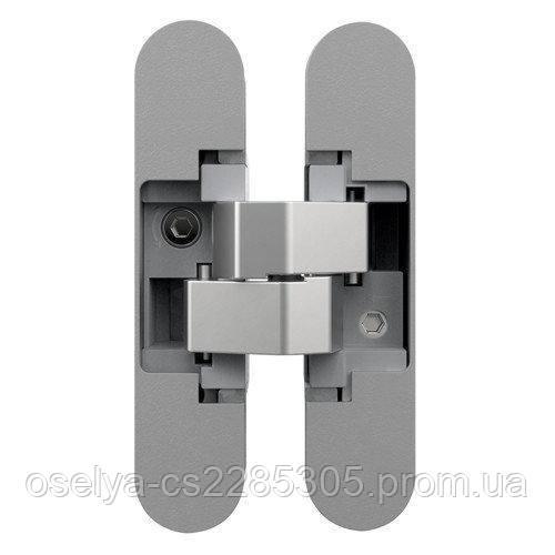 Петля дверная скрытая Anselmi AN 140 3D (505) хром матовый