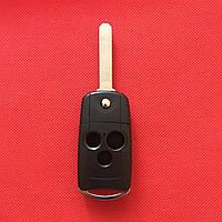 Корпус выкидного авто ключа для Honda (Хонда) Accord Pilot Civic - 3 кнопки, фото 1