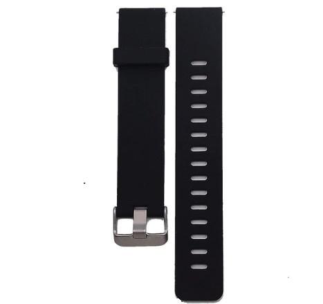 Сменный ремешок для фитнес браслета Lemfo V11 (Силиконовый, Черный)