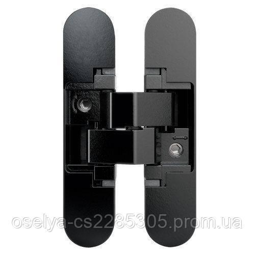 Петля дверная скрытая Anselmi AN 140 3D (505) чёрный