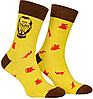 Носки с принтом женские Mushka Jobsy (STE001) 36-40 Желтые, фото 4