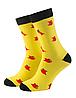 Носки с принтом женские Mushka Jobsy (STE001) 36-40 Желтые, фото 3