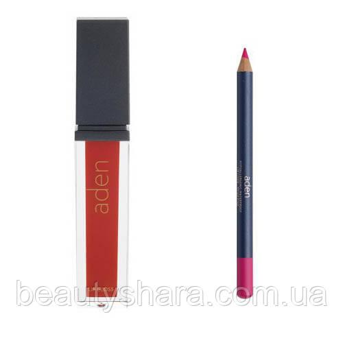 Блеск + карандаш
