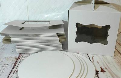 Коробки, подложки и упаковка для десертов