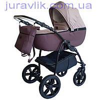 Коляска 2в1 универсальная Classic колеса НЕ ПРОБИВАЕМЫЕ Классик Коляска для новорожденных Классик