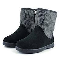 Кожаные сапожки UGG Australiaр 22.5, зимния детская обувь
