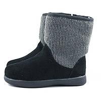 Кожаные сапожки UGG Australia р 23, зимния детская обувь