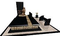 Пам'ятник гранітний елітний подвійний F6603, фото 1
