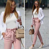 Женские брюки с завешенной талией