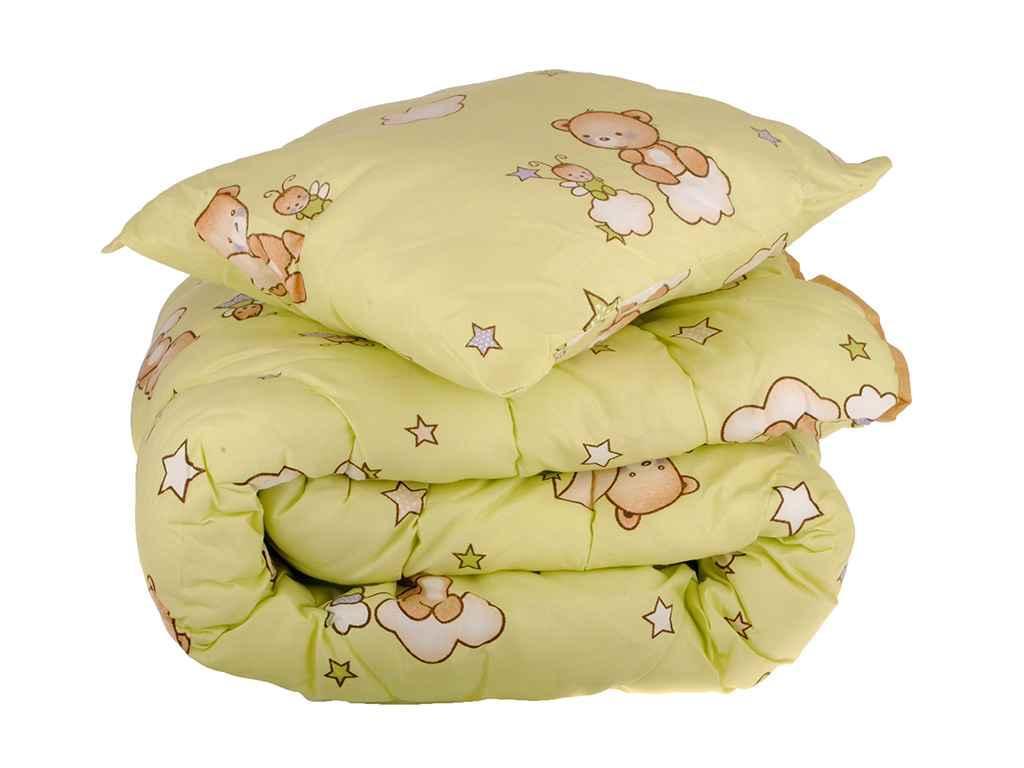 Детский комплект одеяло и подушка