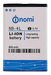 Оригинальная батарея Nomi i240 (NB-4L)