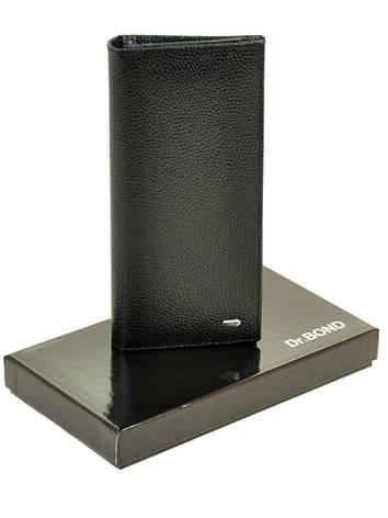 Мужской кошелек Classic кожа DR. BOND MSM-6 черный, фото 2
