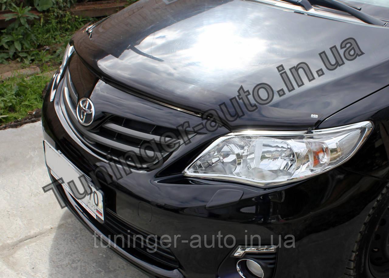 Мухобойка, дефлектор капота Toyota Corolla 2007-2012 (EGR)