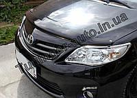 Мухобойка, дефлектор капота Toyota Corolla 2007-2012 (EGR), фото 1