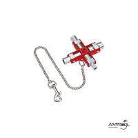 Ключ для шкафов и систем запирания - Knipex 00 11 06
