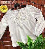 Вышиванка с белой вышивкой БАТИСТ 092р-134р