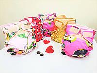 Набор из пяти многоразовых непромокаемых подгузников для девочек ТМ Витася