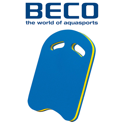 Доска для плавания Beco 9690 KICK, два отверстия, фото 2