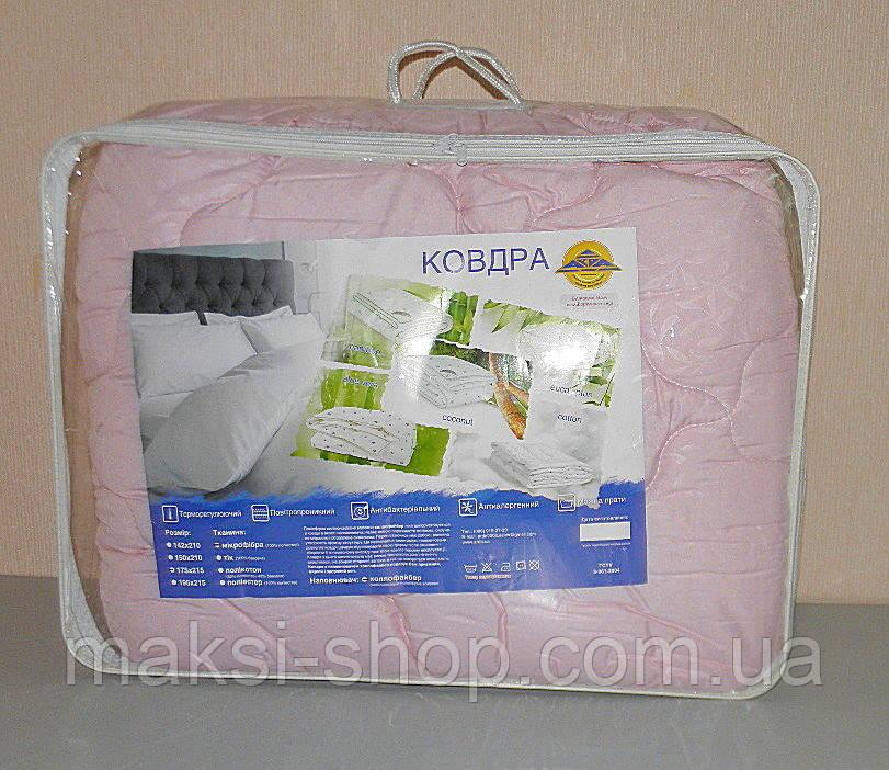Одеяло двуспальное в подарочном чемодане (ткань микрофибра наполнитель холлофайбер) (Х-517)