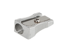 Точилка металлическая Buromax серебристая