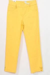 Турецкие женские летние желтые брюки, 48-54