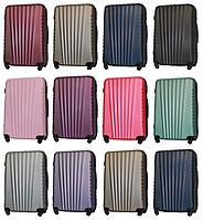 Большие пластиковые чемоданы Fly 8844