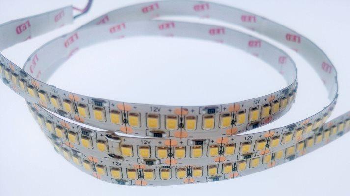 Світлодіодна стрічка Premium SMD 2835/204 12V 6000-8000К IP20 (1м) на посиленої підкладці Код.59612