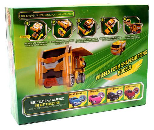 Игровой набор Лига ВотчКар Битвы Чемпионов машинка Поти Игра WatchCar Putty(Malu), фото 2