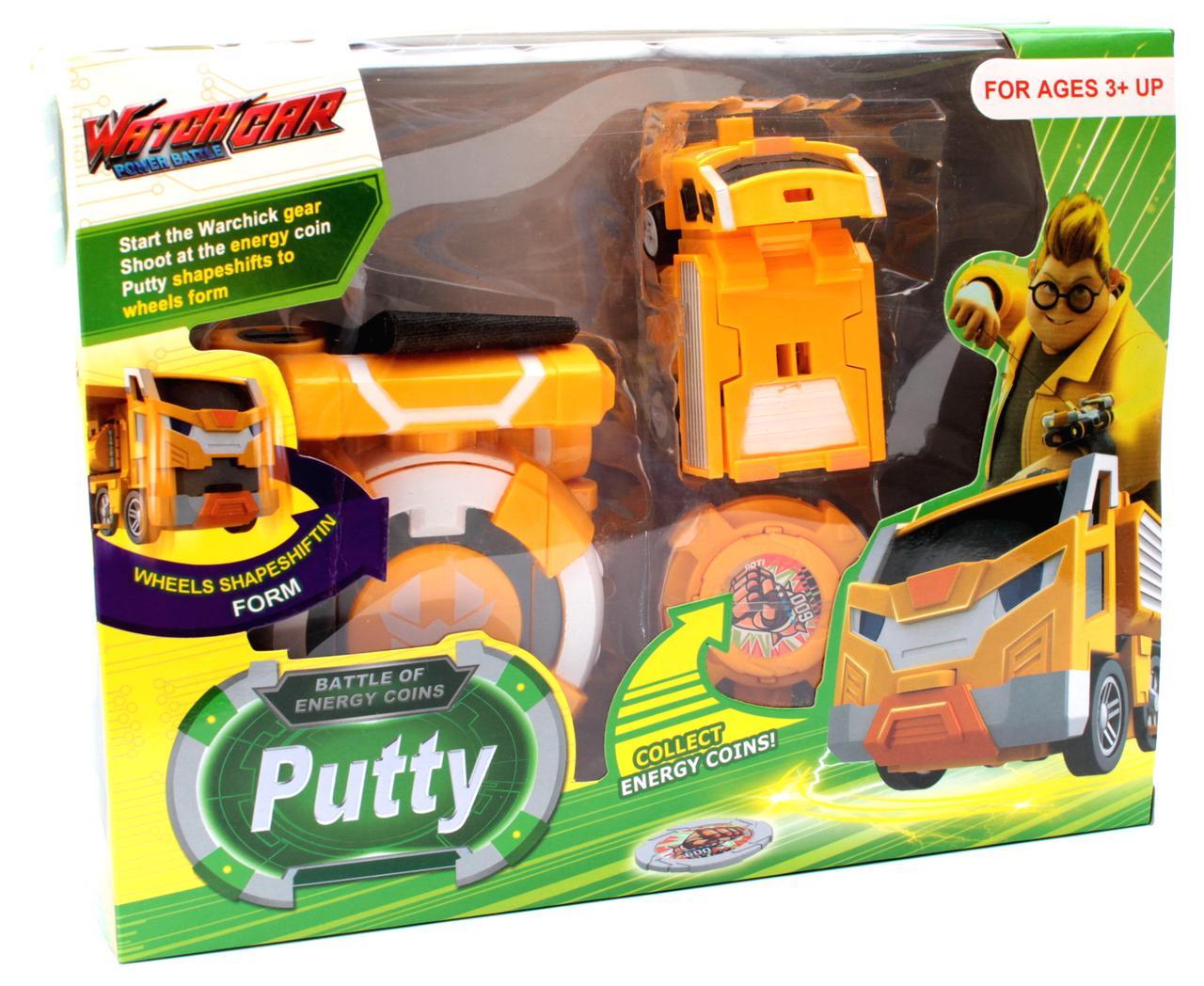 Игровой набор Лига ВотчКар Битвы Чемпионов машинка Поти Игра WatchCar Putty(Malu)