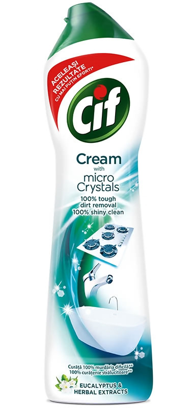 Засіб для чищення Cif Cream Micro Crystals eucalyptus & herbal extracts 500 мл