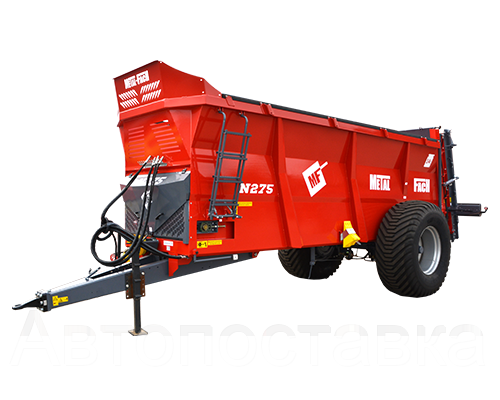 Разбрасыватель навоза N275 - 14т Metal-Fach