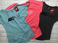 Женская спортивная брендовая футболка Nike Air , люкс 1:1 Турция