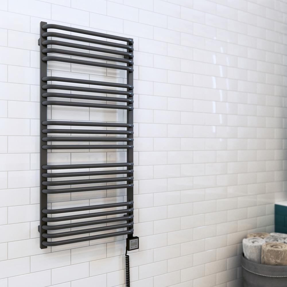 Электрический полотенцесушитель Terma Alex  760*500 мм в белом цвете
