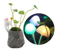 Необычный романтический светодиодный LED светильник-ночник с грибами в стиле «Аватара»