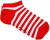 Носки с принтом женские короткие Mushka Cherry mini (SWRM01) 36-40 Красно-белые, фото 2