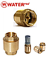 Обратный Клапан 1/2 Латунь Water Pro DN 15 PN 20, фото 4