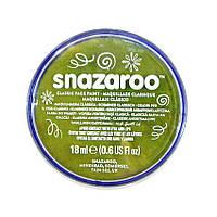 Аквагрим для лица и тела Snazaroo травяной зеленый 18мл (1118477)