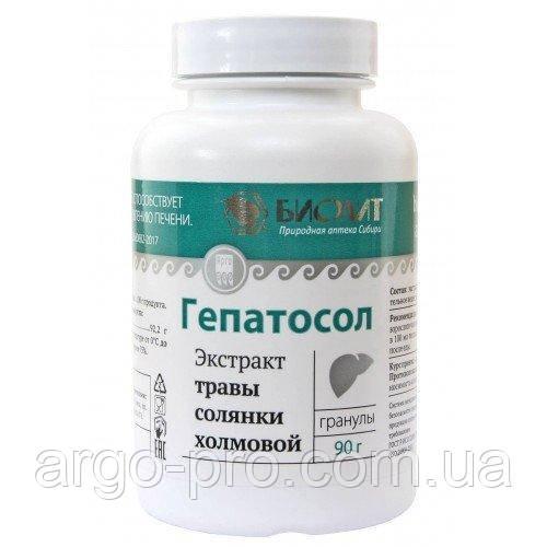 Гепатосол Арго (восстановление, защита печени, липидный обмен, холестерин, холецистит, иммунитет, очистка)