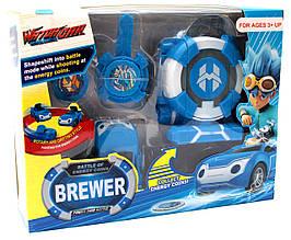 Игровой набор Лига ВотчКар Битвы Чемпионов машинка Блювилл Игра WatchCar Brewer(Chino)