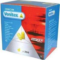 Беруши Venitex одноразовые CONIC 200 штук