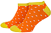 Носки мужские короткие Mushka Apelsinka mini (DOWM01) 41-45 Оранжевые, фото 2
