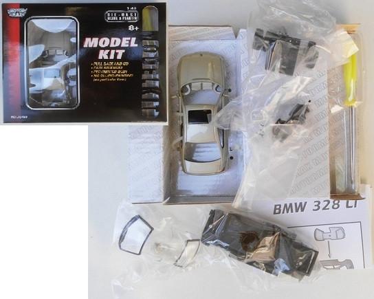 Машина метал. модель BMW328 М1:43 конструктор