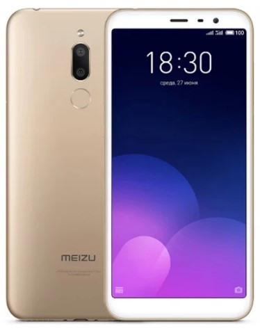 Смартфон с большим дисплеем на 2 сим карты Meizu M6T M811H Gold 2/16GB Global Version (GSM + CDMA)