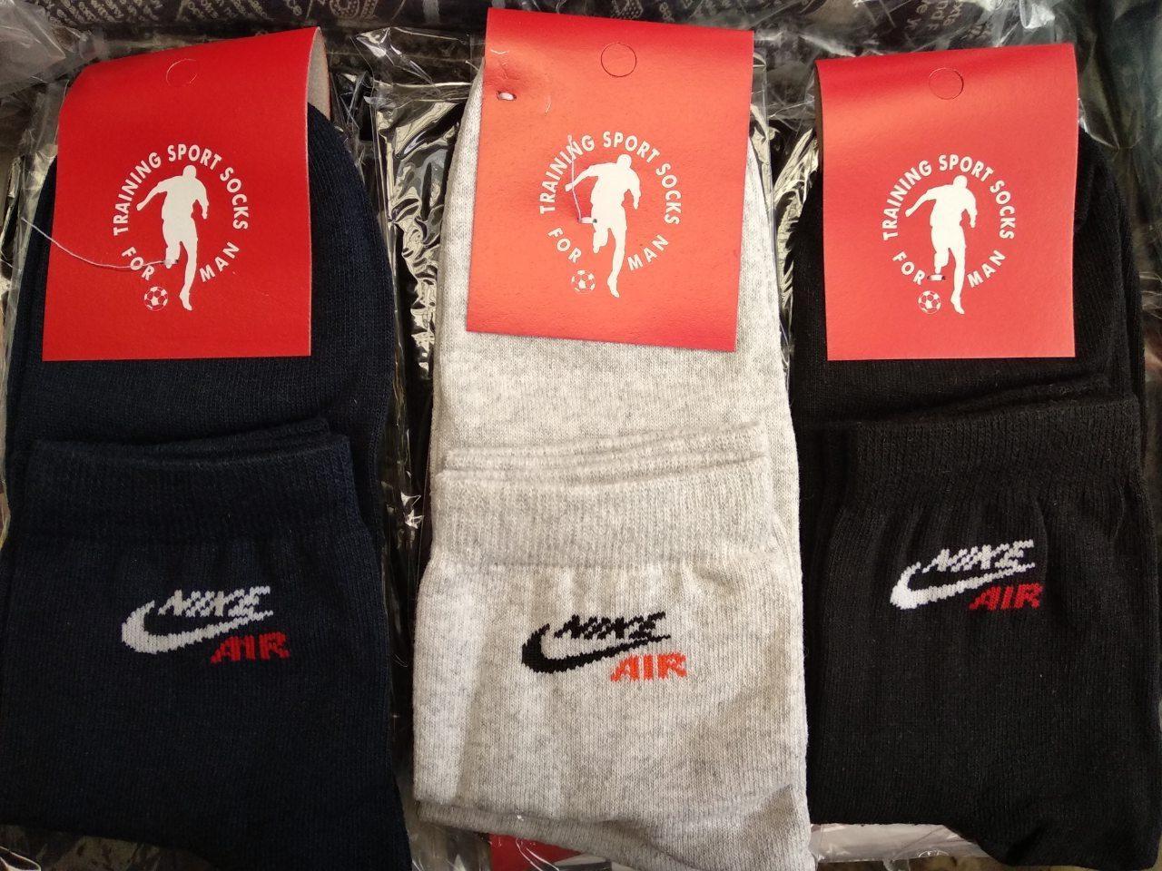 Чоловічі спортивні   шкарпетки  Nike(40-44 )