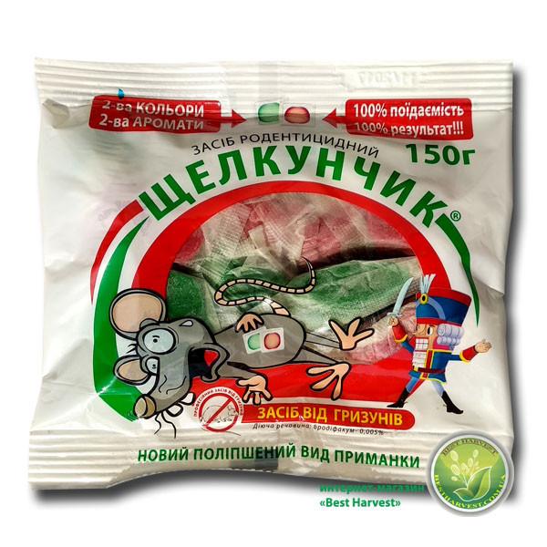 Щелкунчик тесто 150 г от крыс и мышей, оригинал
