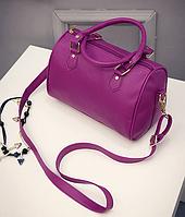 Повседневная классическая сумка - бочонок